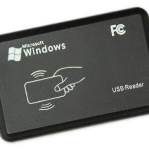 USB Reader RFID Card / Tag เครื่องอ่านบัตร แบบ USB สำหรับบัตร Proximity สำหรับใช้เป็นจุดลงทะเบียนต่างๆ หน้างาน เช่น สำหรับเพิ่มบัตรผ่านหมู่บ้านเป็นต้น ราคาพิเศษ เพียง