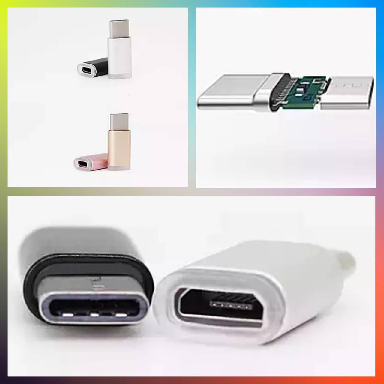 micro-usb to type-c adapter