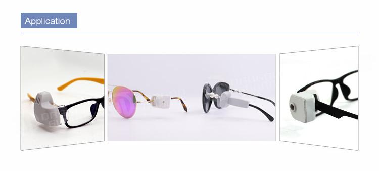 AMT-07 EAS Tag For Glasses แท็กกันขโมยแบบติดขาแว่นตา เพื่อใช้ในร้านขายแว่นตา ป้องกันการสูญหายของแว่นตาราคาแพง ติดตั้งง่ายเพียงใช้ไขควงเฉพาะทา